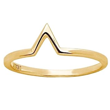 Ella Open Triangle Ring