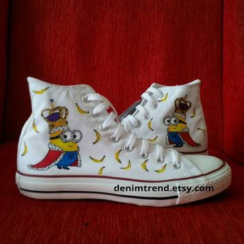 Minion Shoes Converse - King Bob