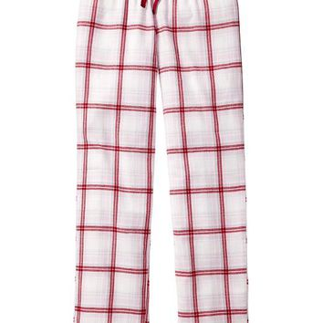 Gap Women Factory Print Flannel Pants