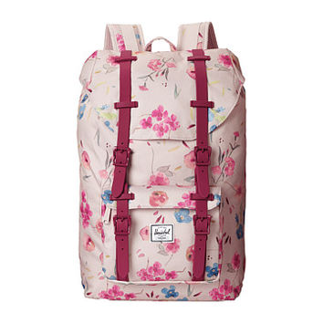 Herschel Supply Co. Little America Mid-Volume Ruby Khaki - Zappos.com Free Shipping BOTH Ways