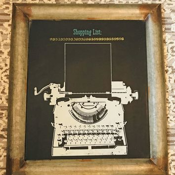 Chalk Couture Class: Typewriter