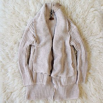 The Boston Bundle Sweater in Cream