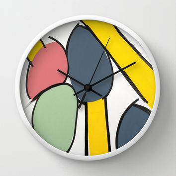 Colours Wall Clock by Bruce Stanfield
