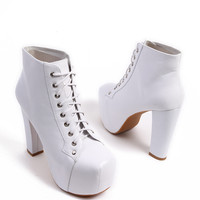Jeffrey Campbell Lita in White