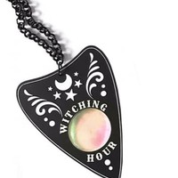 Curiology Witching Hour Planchette Necklace | Attitude Clothing