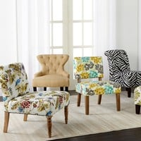 Upholstered Accent Chairs
