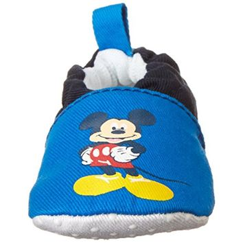 Disney Mickey Mouse Infant Boys Colorblock Crib Shoes