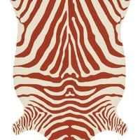 Loloi Zadie Red / Ivory Area Rug