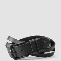 Mens Void Belt (Washed Black) | ALLSAINTS.com