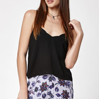 Kendall and Kylie Scallop Hem Cropped Tank Top at PacSun.com