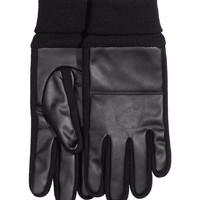 H&M - Gloves - Black - Men