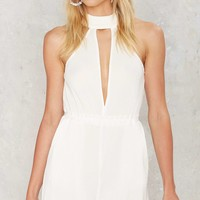 Fold Me Tight Cutout Romper