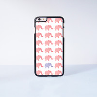 """Pink Elephant Plastic Phone Case For iPhone iPhone 6 Plus (5.5"""") More Case Style Can Be Selected"""