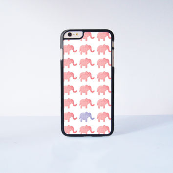 "Pink Elephant Plastic Phone Case For iPhone iPhone 6 Plus (5.5"") More Case Style Can Be Selected"