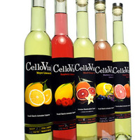 CelloVia Blood Orange Vanilla Liqueur 375ML