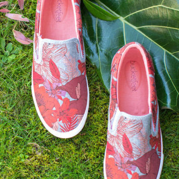 The Fast Resort Slip-on Sneaker in Tropical
