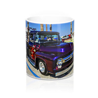 1956 Ford F-Series Coffee Mug, Ford Truck Coffee Mug, Classic Ford Truck Coffee Mug, Hotrod Coffee Mug