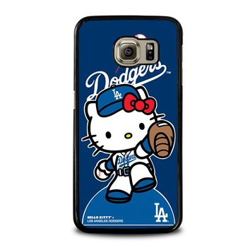 HELLO KITTY LA DODGERS Samsung Galaxy S6 Case Cover