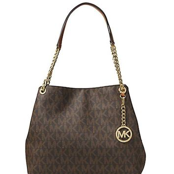 DCCKUG3 Michael Kors Jet Set Large Shoulder Tote