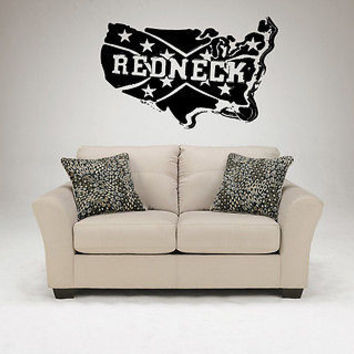 Redneck Decal Sticker For Rednecks Rebel Décor Rednecks Stuff Wall Art 3824