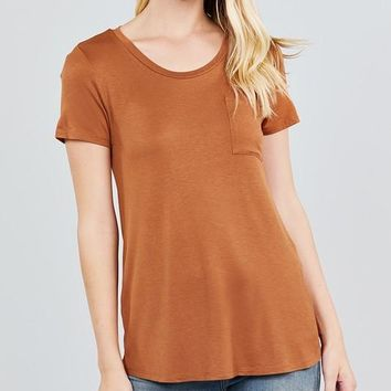 In The Pocket Tee - Copper
