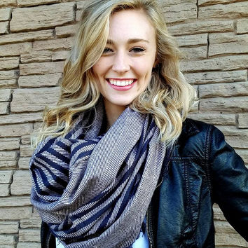 Buy One Get One Free Stripes Blanket Scarf 5 colors!