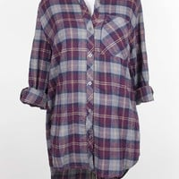 Brigette Hooded Flannel