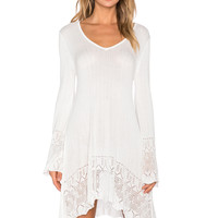 MINKPINK In The Clouds Dress in White