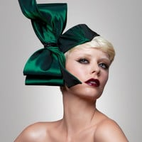Couture Bow headpiece-Brianna