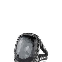 David Yurman 'Albion' Ring with Gray Orchid and Black Diamonds | Nordstrom