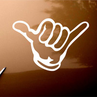 Hang Loose Shaka Car Window iPad Notebook Decal Sticker