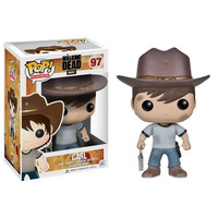 Funko POP! The Walking Dead - Vinyl Figure - CARL GRIMES: BBToyStore.com - Toys, Plush, Trading Cards, Action Figures & Games online retail store shop sale