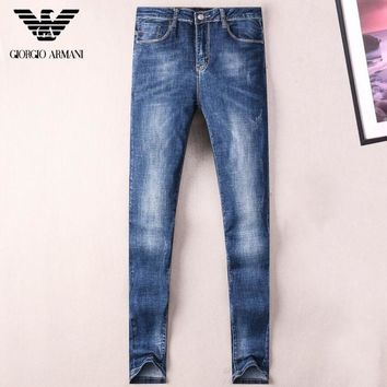 Boys & Men Armani Fashion Casual Pants Trousers Jeans