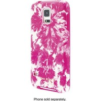 Isaac Mizrahi New York - Case for Samsung Galaxy S 5 Cell Phones - Pink/White