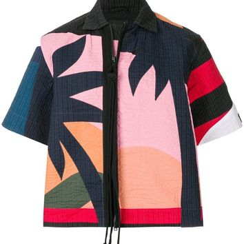 Multi-Color Palms T-Shirt Jacket by Craig Green