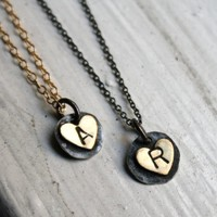 Supermarket: Custom Handmade Initial Necklaces from Rachel Pfeffer Designs