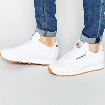 Reebok | Reebok Classic Leather Sneakers 49799 at ASOS