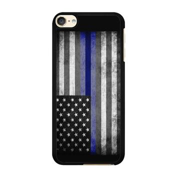 The Thin Blue Line American Police Officer iPod Touch 6 Case