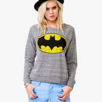 Heathered Batman™ Raglan Top