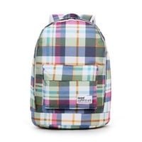 Icon Travel Backpack Schoolbag for College for Girls/boys Multi-color Plaid:Amazon:Clothing