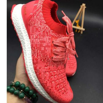 ADIDAS Women Running Sport Casual Shoes Sneakers Red