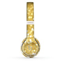 The Bright Golden Unfocused Droplets Skin Set for the Beats by Dre Solo 2 Wireless Headphones