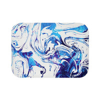 Azure Dragon Marble  Bath Mat