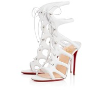 Amazoulo 100 White Leather - Women Shoes - Christian Louboutin