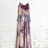 Vintage Purple Peplum Dress - Urban Outfitters
