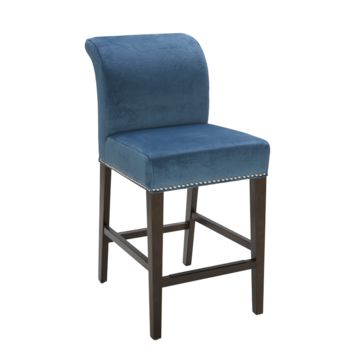 IRVING COUNTER STOOL BLUE