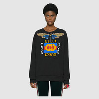 Gucci - Gucci logo sweatshirt with embroidery