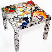 Naruto Manga Collage Table - 1st Variant FREE SHIPPING USA