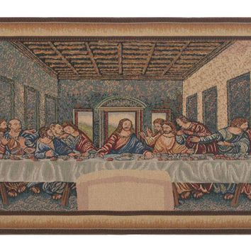 Last Supper II Tapestry Wall Art Hanging