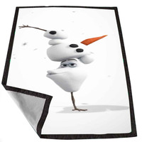 Disney Frozen Olaf The Snowman Break Dance 0b3b3a97-6645-4ef6-93c8-6c513acff881 for Kids Blanket, Fleece Blanket Cute and Awesome Blanket for your bedding, Blanket fleece *02*